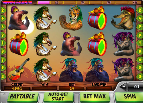 Онлайн игра  Safari Samba: Танцуют все, даже животные