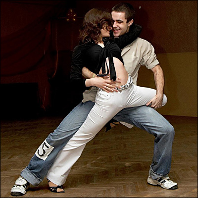 Танец хастл - обучение, видео-уроки