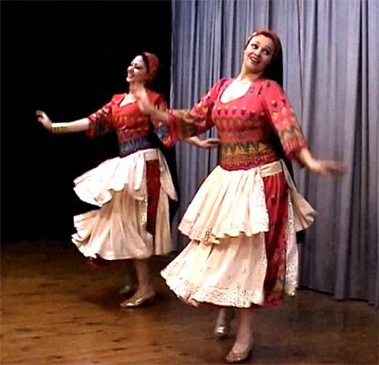 Восточная музыка и восточный танец Haggala (видео)