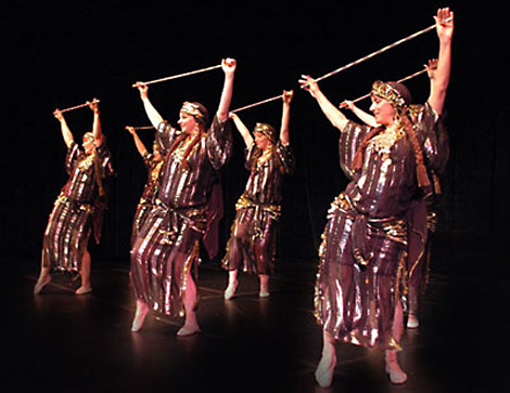 Восточный танец живота (Belly Dance) с тростью