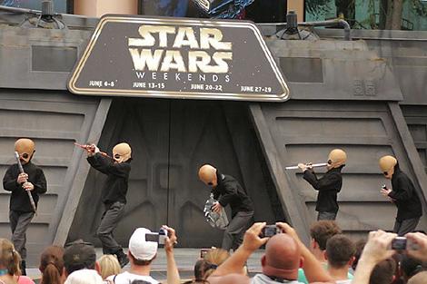 Звездные Войны в танце
