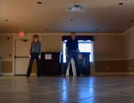 Оригинальный свадебный танец (видео)
