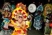 Красочный танцевальный карнавал джанкану на Багамах (часть 2)